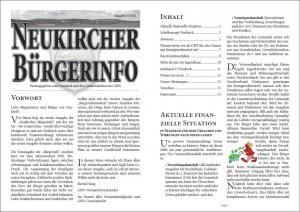 Bürgerinfo 2010