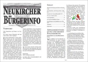 Bürgerinfo 2013